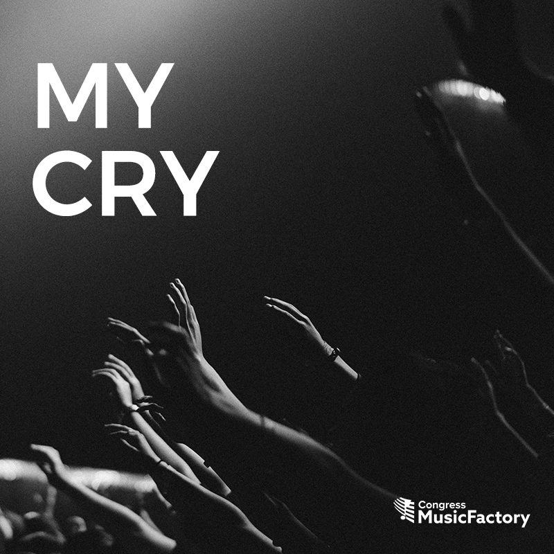 My Cry CD Cover