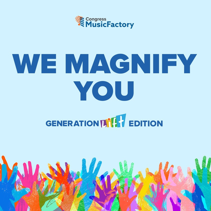 We Magnify You CD Cover